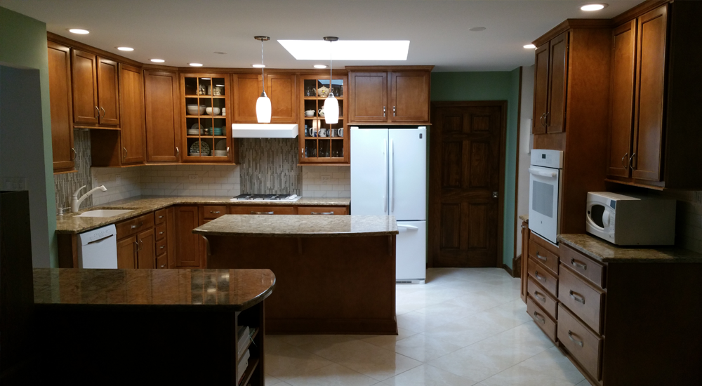 New kitchen integrates all sides