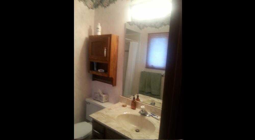 Old bathroom look