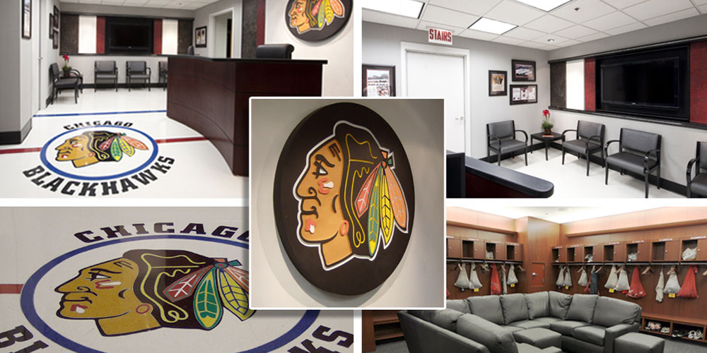 Chicago Blackhawks interior by GGMorris