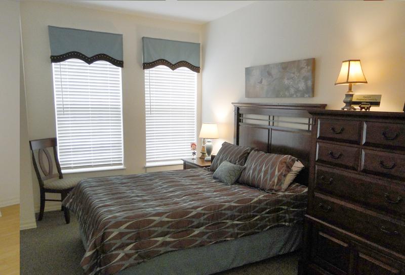 Coordinated bedroom