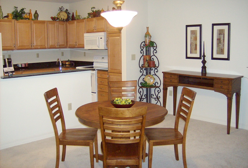 Functional dining area and kitchen
